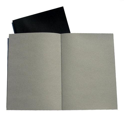 Carnet Starter - Seawhite - Papier gris clair - A4 ou A5