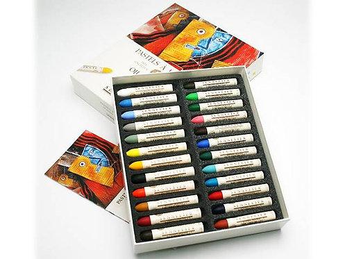Pastels à l'huile - SENNELIER - 24 pastels