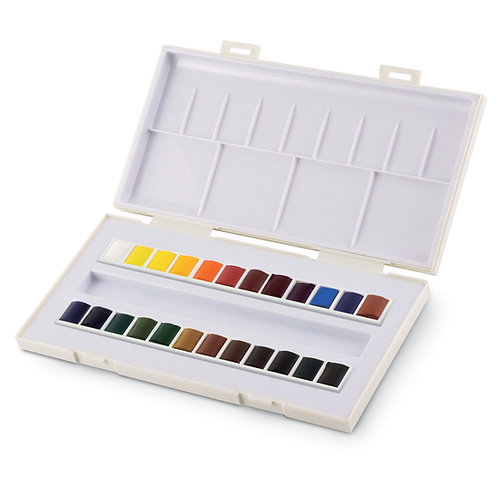 La petite aquarelle - Sennelier - 24 demi godets+pinceau