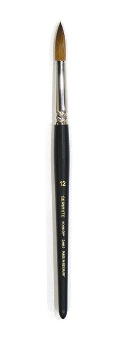 Pinceaux - poils de martre - n°00 à n°12