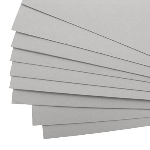 Carton gris - 1mm - blanc - A2 et A1 - à l'unité