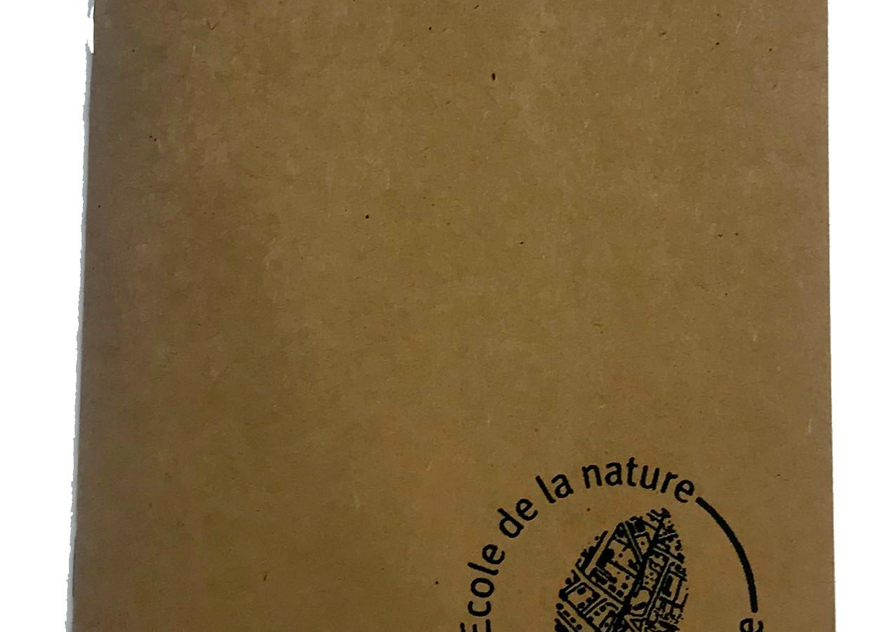 Couverture personnalisé pour l'école Nature et Paysage.