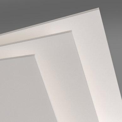 Carton plume/mousse - 3mm - blanc - de A4 à A1 - à l'unité