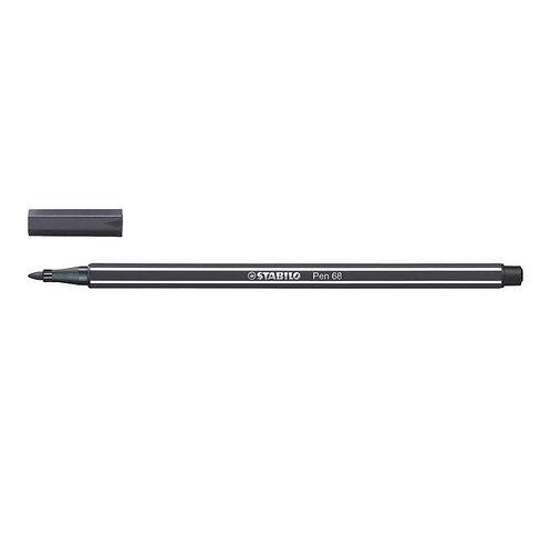 Feutre Stabilo Pen 68 - gamme de gris - à l'unité
