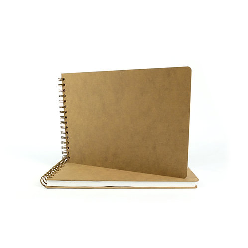 Carnet de croquis bois - A5 au A3 - 50 pages -160gm