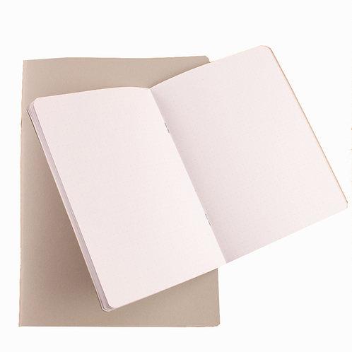 Carnet starter - Seawhite - Dots - A5 et A4 - 40 pages