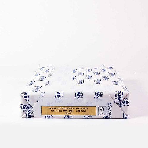 Papier Cartdridge tous médias - 220gms - 10 à 200 feuilles