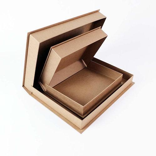 Boîtes Kraft - A4, A3 - 50mm de profondeur