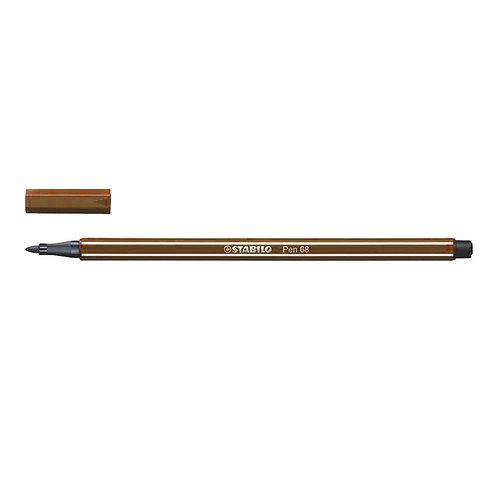 Feutre Stabilo Pen 68 - gamme de marron - à l'unité
