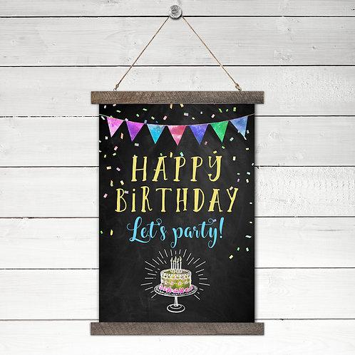 Happy Birthday - Let's Party