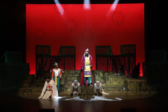 Saladin and Knights