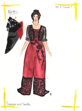 Rosa Rendering Act 2, Scene 1