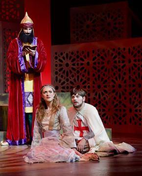 Saladin, Recha and Curd