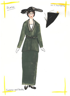 Alma Green Suit Rendering