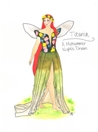 Titania Rendering Theoretical