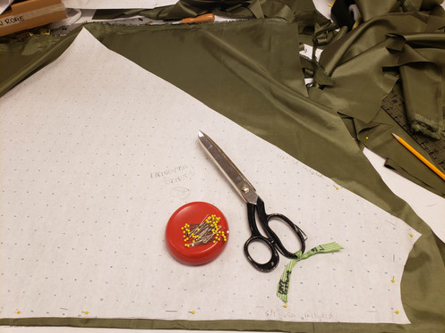 Cutting skirts