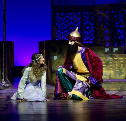 Saladin and Recha