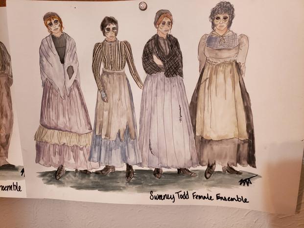 Ensemble Women Rendering