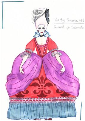 Lady Sneerwell Rendering Theoretical