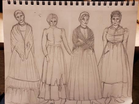 Ensemble Women Sketch