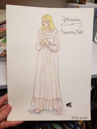 Johanna Nightgown Rendering