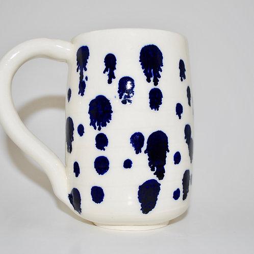 Large Spotty Mug