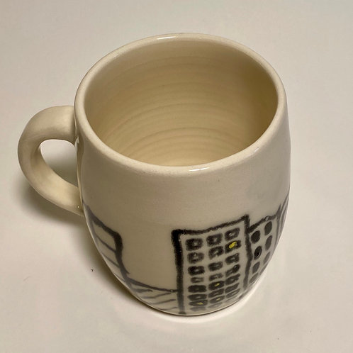 Medium Cityscape Mug