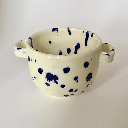 Medium Spotty Handle Bowl