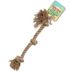 "Mesa Pet Products - Hefty-Hemp Rope Toy-16"" long"