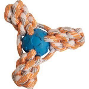 SnugArooz - Snugz Mini Fling N' Fun Rope Toy - Assorted - 4 Inch
