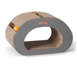 K&H Pet Products - Creative Kitty Tunnel - Brown - 15.75X9.5X9.25