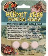 Zoo Med - Hermit Crab Mineral Blocks With Added Food - 3 Packs