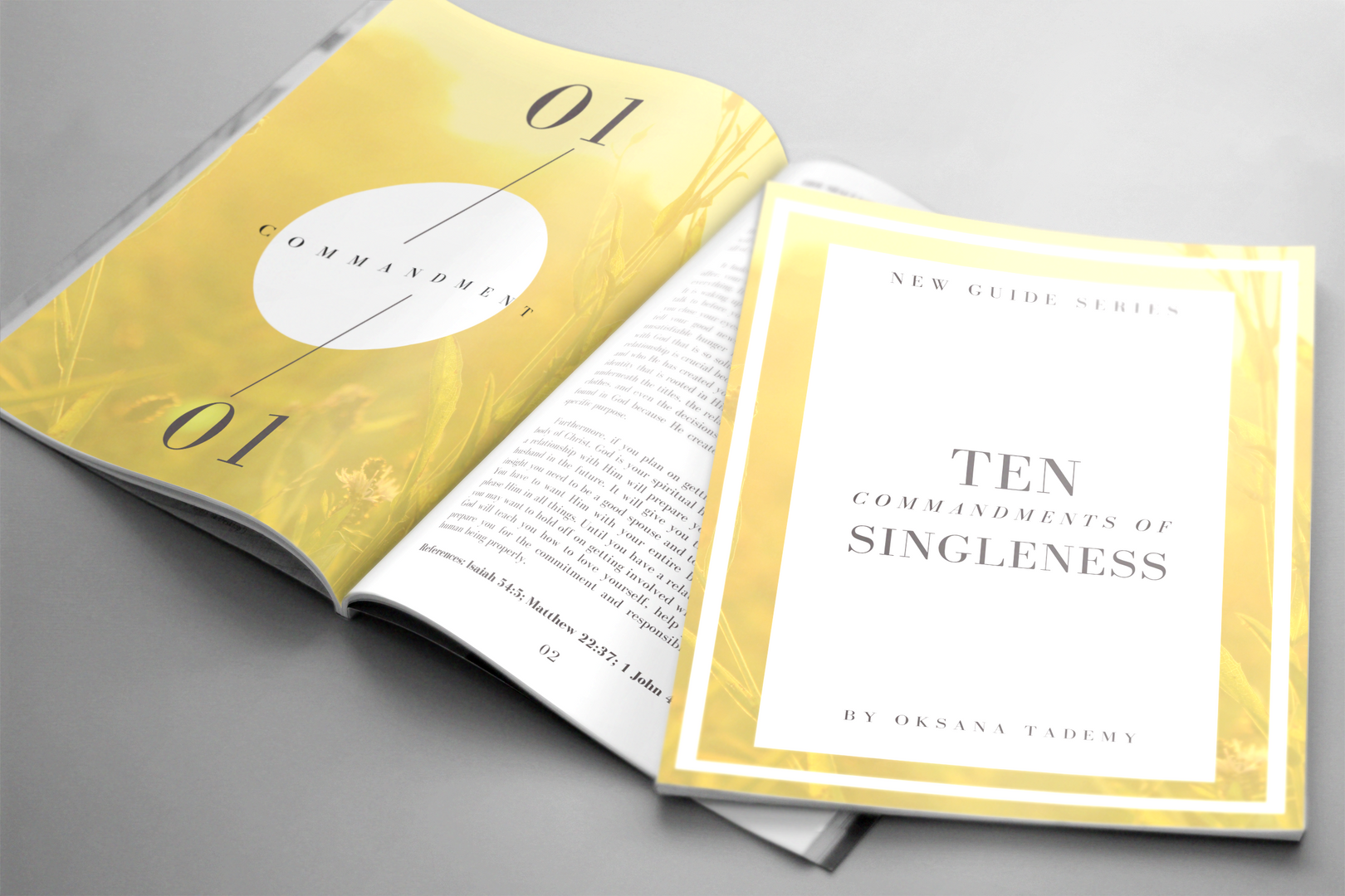 Ten Commandments of Singleness