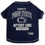 Penn State Dog Tee Shirt Football Dog T-shirt/
