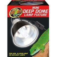 Zoo Med - Mini Deep Dome Lamp Fixture - Black