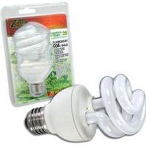 Zilla - Tropical 25 Uvb Fluorescent Coil Bulb - 20 Watt