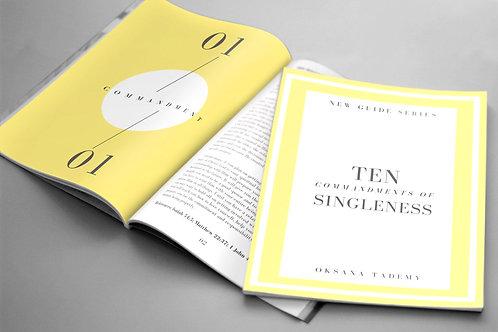 TEN COMMANDMENTS OF SINGLENESS (eBook)