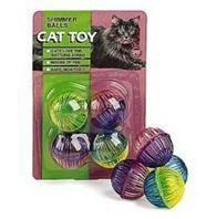 Ethical Cat - Shimmer Balls - 4 Pack