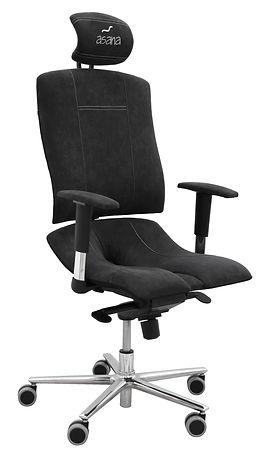 Stolička Asana, asana, zdrave sedenie, ergonomicka stolicka, ergonomicka zidle, zdrave sezeni, joga, proti hemoroidom, alcantara, dlhe sedenie, zdrava stolicka