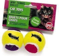 Ethical Cat - Mini Tennis Ball With Catnip