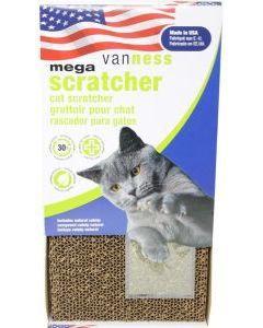 Van Ness Plastic Molding - Mega Scratcher 2X W/Catnip - 18.5X9.5X1.5