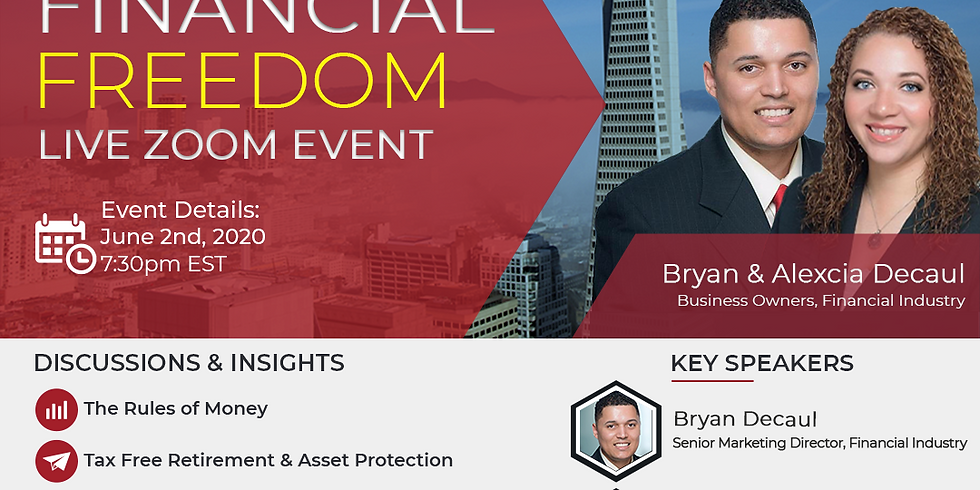 Financial Freedom Live Event
