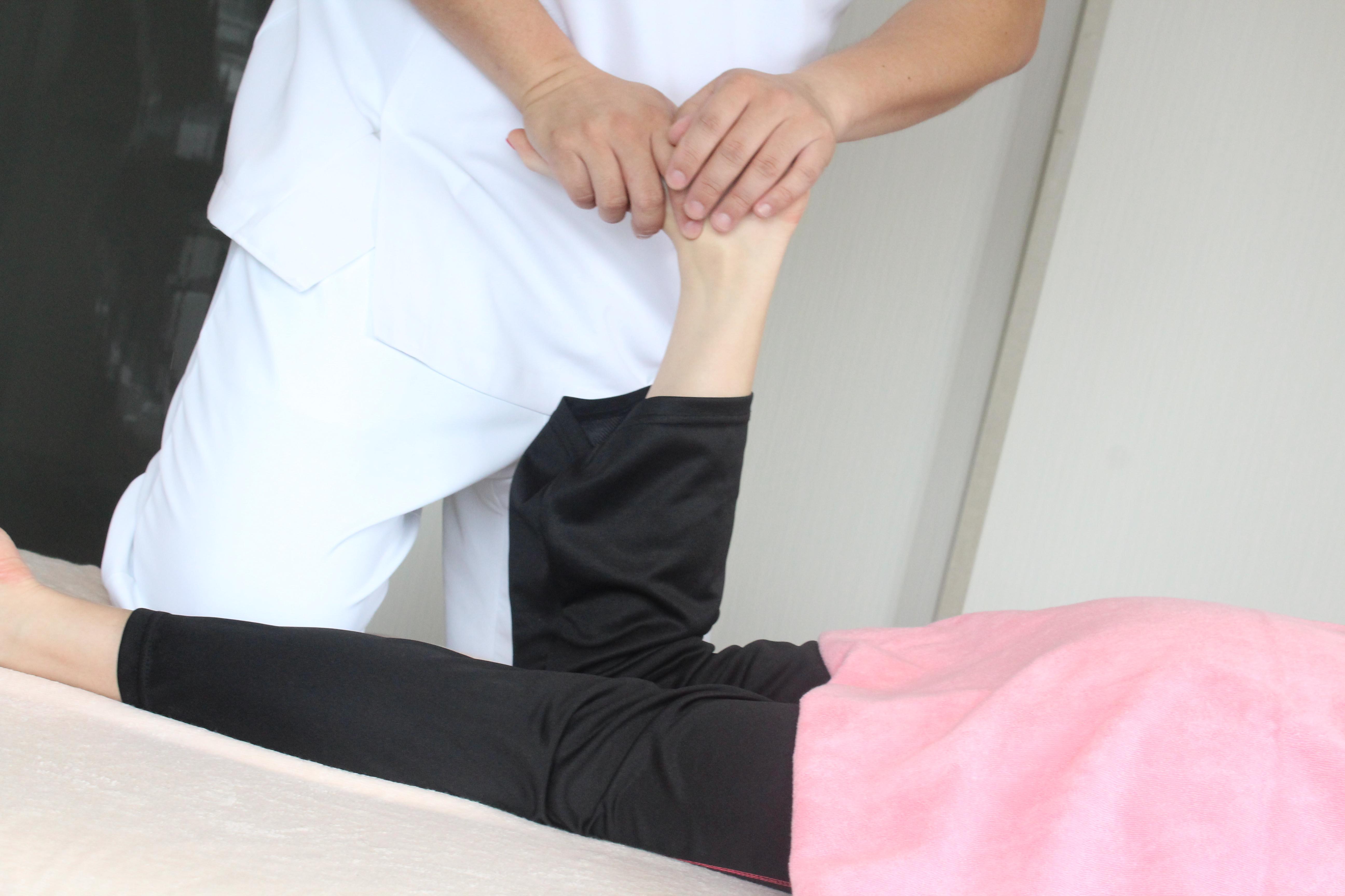 下半身施術(首~腰)40分:鍼灸込み