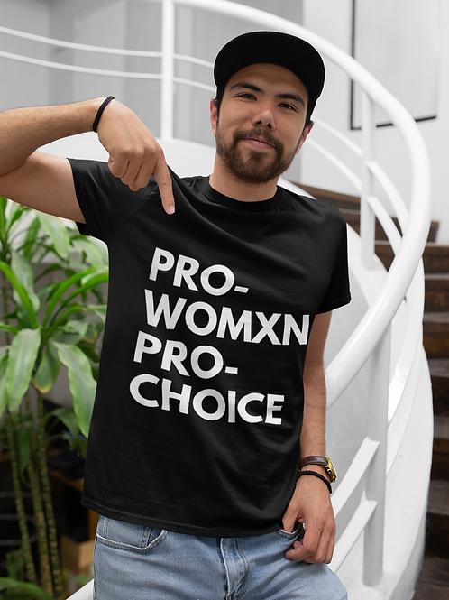 PRO-WOMXN PRO-CHOICE