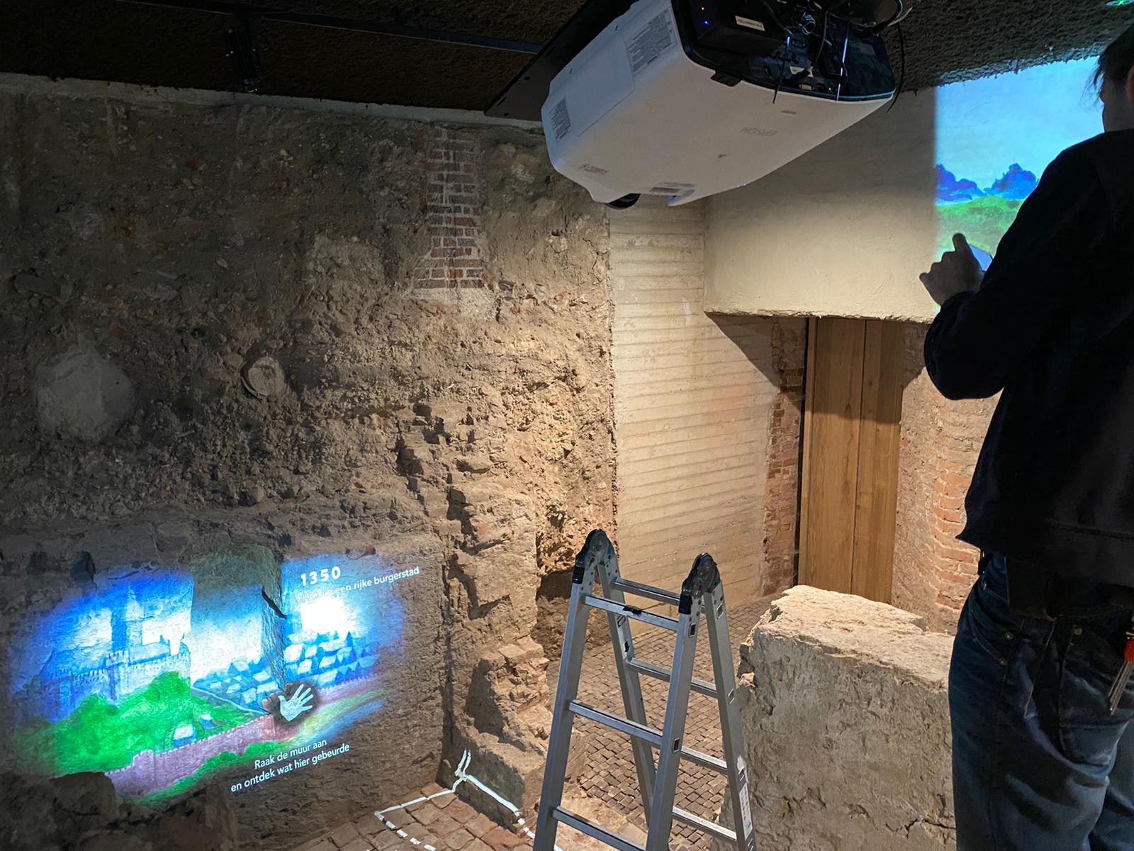 Onderhoud bij Museum de Bastei