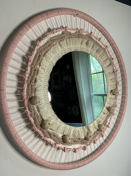 Blushing mirror