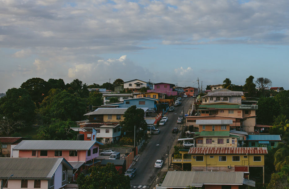 The Updated, Old Neighborhood in San Fernando, Trinidad photo by Stephanie Warga