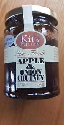 Apple & onion chutney from Kit's Kitchen