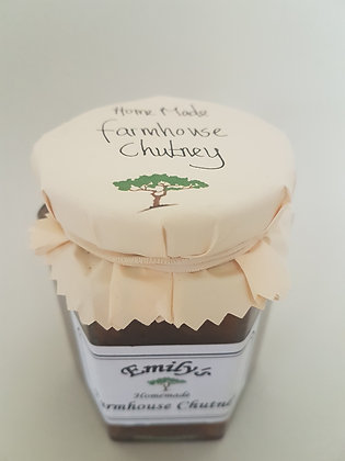 Farmhouse chutney by Emily's jams and pickles