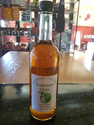 Sparkling medium vintage cider from pershore college 750ml